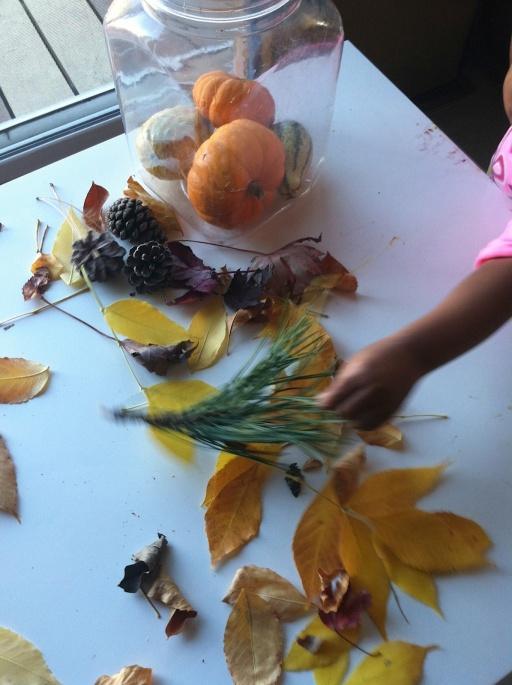 Fall Sensory Bucket