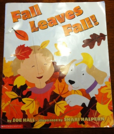 Fall book Fall craft