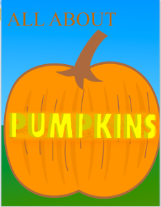 All About Pumpkins now available .99 cents in iTunes