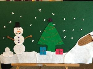 Felt Board Winter Wonderland