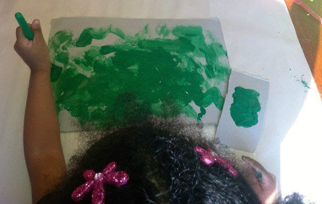 painting for St. Patrick's Day